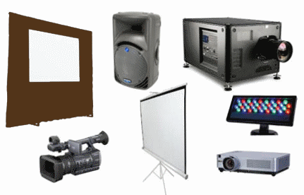 catering software audio video rentals