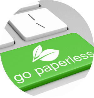 catering software paperless green contracts and invoices