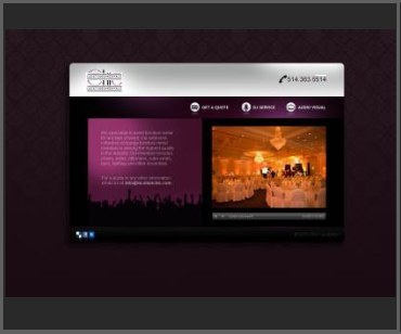 audio visual website design