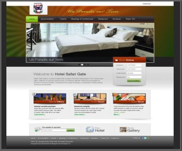 banquet hall website design