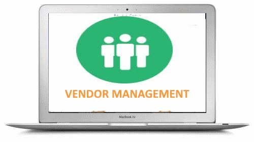 Vendor management module