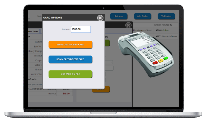 tiles flooring pos system-payment integration